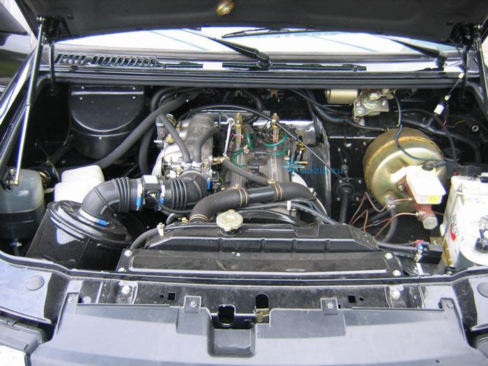 Уаз патриот фото двигателя